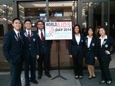 CHAPTER OFFICERS: WORLD AIDS DAY SYMPOSIUM